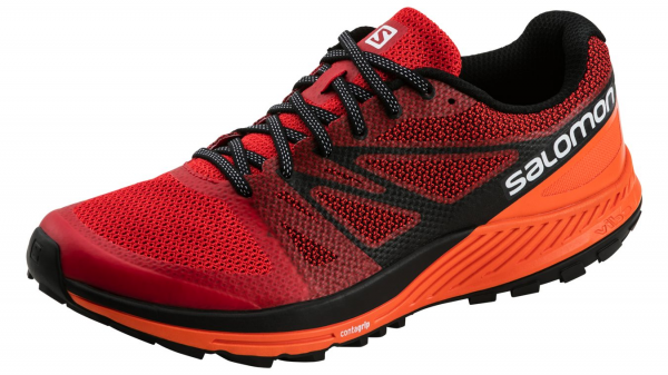 SALOMON Herren Trailrunning-Schuhe Sense Escape M in rot 75d0b2f8d3
